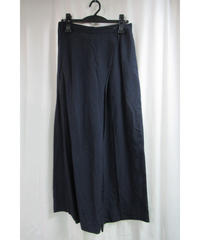 80's SAMPLE yohji yamamoto femme vintage 紺 アシメトリー変形ワイドパンツ