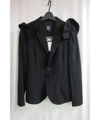 新品 LIMI few yohjiyamamoto 黒 肩羽付きデザイン黒ジャケット LY-J05-100
