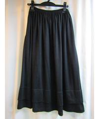 90's Y's yohji yamamoto femme 裾レイヤードフレアスカート