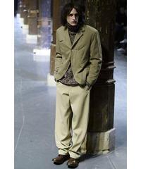 06aw yohji yamamoto pour homme 製品染め 燕尾デザインジャケット