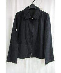 Y's yohji yamamoto ステッチデザインショートジャケット YL-J26-106