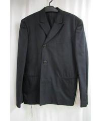 96aw yohji yamamoto pour homme vintage ベルト付きデザインジャケット