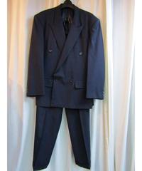 オールド Y's for men 紺 ステッチデザインスーツ セットアップ