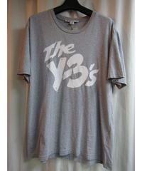 Y-3 yohji yamamoto グレー [The y-3's]プリントTシャツ