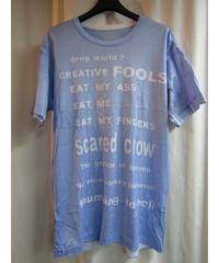 14ss yohji yamamoto pour homme 製品染めデザインTシャツ  HG-T15-064