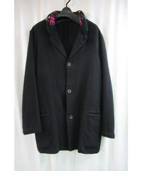 美品 00aw yohji yamamoto pour homme 縮絨 襟ニットデザインジャケット