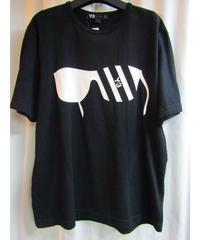 Y-3 yohji yamamoto サングラスプリントTシャツ