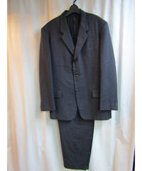 yohji yamamoto pour homme COSTUME D'HOMME ストライプセットアップ HG-X03-502