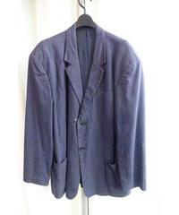 レア 80's  yohjiyamamoto pour homme vintage 紺 デザインビッグジャケット