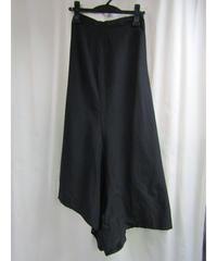 Y's yohji yamamoto アシメトリーサルエル風デザインスカート