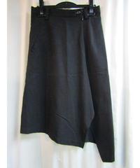 Y's yohji yamamoto アシメトリーデザインスカート YT-S16-213