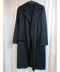 Y's yohji yamamoto ボタンレスシンプルロングジャケット