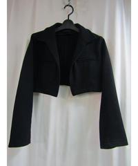 92aw yohji yamamoto femme vintage ボタンレスショートジャケット