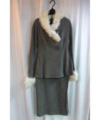 97aw yohjiyamamoto femme vintage デザインスーツ