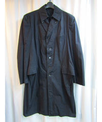 yohji yamamoto pour homme コットンデザインロングジャケット