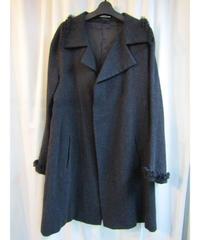08aw yohji yamamoto femme Y's フリンジデザインハーフコート