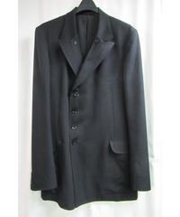 13aw yohji yamamoto pour homme ダブルファスナー 襟デザインジャケット HQ-J31-100
