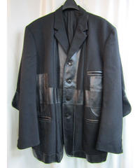 96aw yohji yamamoto pour homme vintage 脱色期 アーマーデザインジャケット HG-J46-806