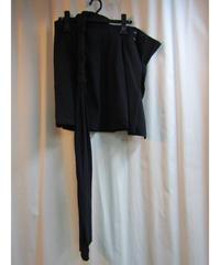 94ss yohji yamamoto femme vintage ねじり紐付デザイン巻きスカート