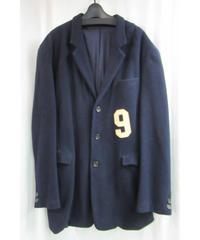 vintege レア 87aw yohji yamamoto pour homme 紺 9番 ロングジャケット