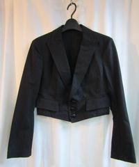 オールド Y's yohji yamamoto femme  ピークドラペルショートデザインジャケット