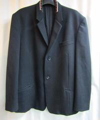 95aw オールドyohji yamamoto pour homme vintage 襟ニット切替えデザインジャケット