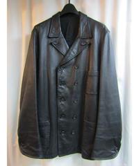 97aw yohji yamamoto pour homme vintage レザーダブルジャケット HI-J16-717