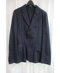 16ss yohji yamamoto pour homme 紺 バックファスナーデザインジャケット 3 HO-J71-042