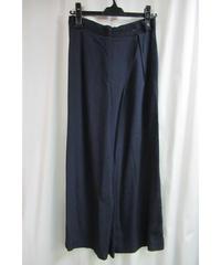 80's SAMPLE yohji yamamoto femme vintage 紺 ラップワイドパンツ P04-200