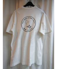 yohji yamamoto pour homme バックプリントTシャツ