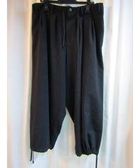 18ss yohji yamamoto pour homme 黒バルーンパンツ size3