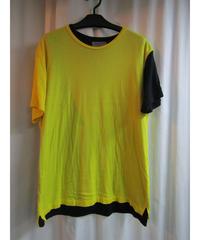 yohji yamamoto pour homme レイヤードデザインTシャツ