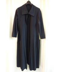 レア オールド yohji yamamoto femme 黒 着物 ロングジャケット