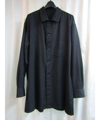 yohji yamamoto pour homme シンプルデザインシャツジャケット