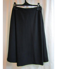Y's yohji yamamoto femme ストライプデザインひざ丈スカート