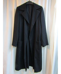 Y's yohji yamamoto femme ボタンレスシンプルロングジャケット