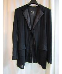Y's yohji yamamoto femme Y's ラペル切替シンプルジャケット