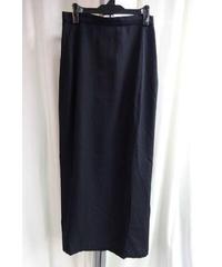 オールド 96ss yohji yamamoto femme 黒 ロングデザインスカート