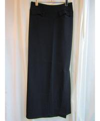 97aw yohji yamamoto femme Y's ダブルスリットデザインタイトスカート