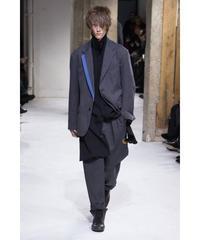 2017AW yohji yamamoto pour homme グレー 襟変形デザインジャケット