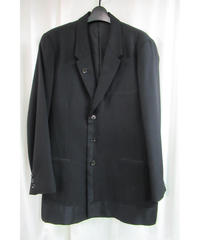 09aw yohji yamamoto pour homme 黒 デザイン切替えジャケット HV-J35-103
