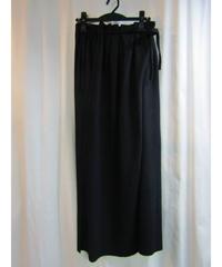 Y's yohji yamamoto 巻きスカート風デザインロングスカート