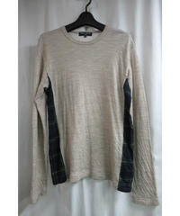 AD2010 COMME des GARCONS HOMME 脇切替えデザインカットソー HF-T029