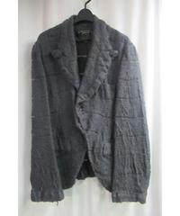 AD2004 COMME des GARCONS HOMME PLUS グレー 縮絨 デザインジャケット