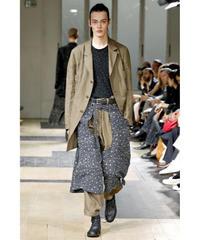美品2012ss yohji yamamoto pour homme カーキバック切替デザインジャケット
