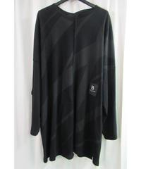 18ss B yohji yamamoto +noir 顔料プリント 切替えデザインカットソー NW-T58-074