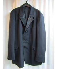 02aw yohji yamamoto pour homme ハラコ切替えデザインジャケット