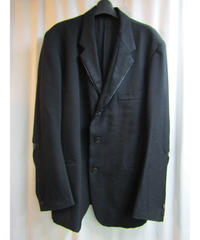 96aw オールドyohji yamamoto pour homme vintage レザー切替えデザインジャケット