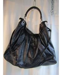 10ss yohji yamamoto femme 2way 羊革デザイントートバッグ