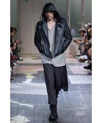 18ss yohji yamamoto pour homme スカート付デザインパンツ